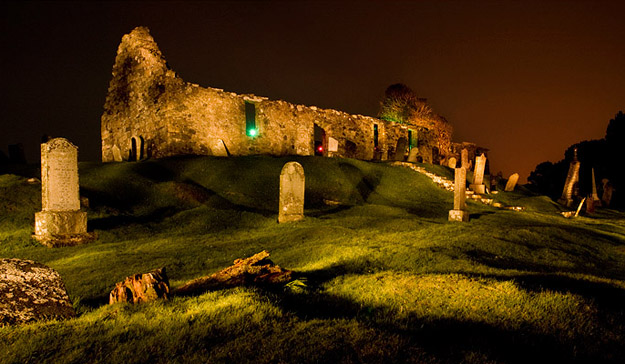 Dual person Lightpainting, Isle of Skye – Lighting Scotland